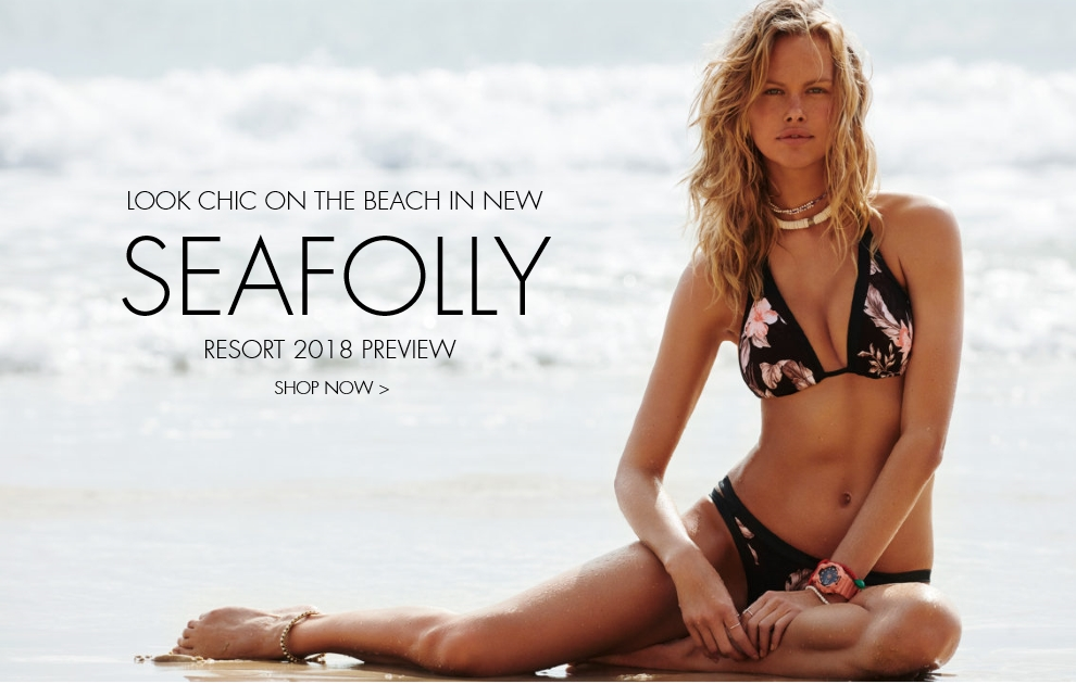 Seafolly resort wear 2018 preview