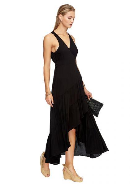 b3dd02fe97a JETS by Jessika Allen | Atacama Multi Tie Kleid Schwarz | Shop ...