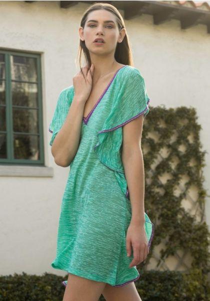 972e583bd8f Pitusa Flare Mini Dress Mint
