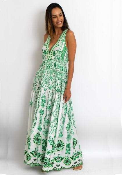 32a6359f0d Rococo Sand Jade Maxi Dress