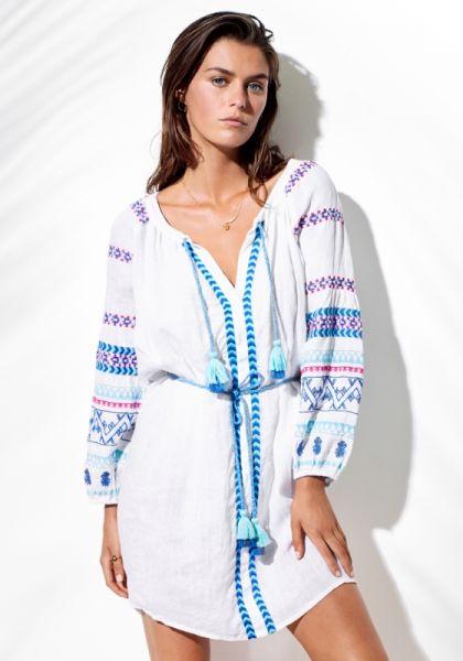 ace7ffea2d6 Seafolly | Folk Embroidered Dress | Beach Cafe UK