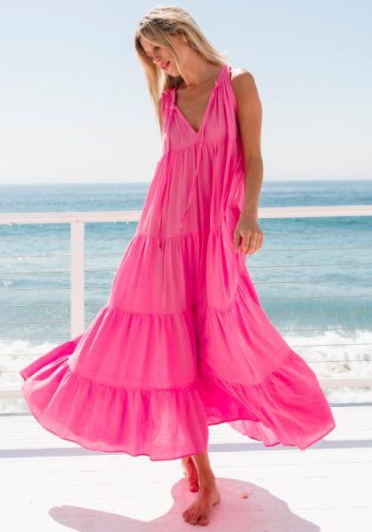 9Seed Light House Beach Dress Peony
