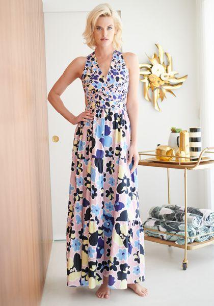 Mimi Kleid Rosa Blumen
