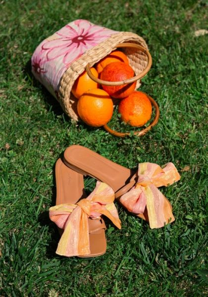 Amour Sandals Peach