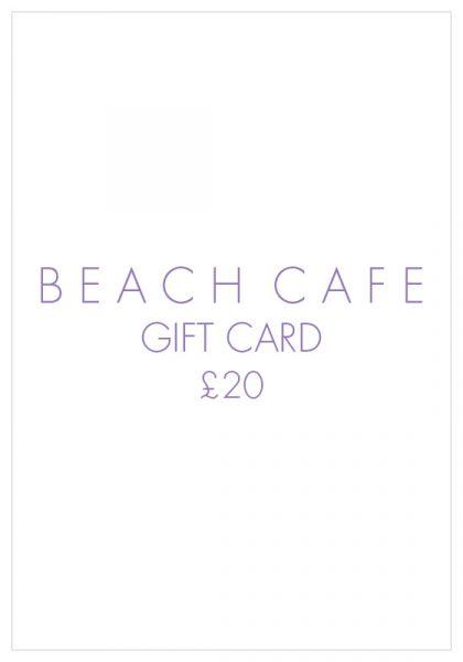 Beach Cafe Gift Card £20
