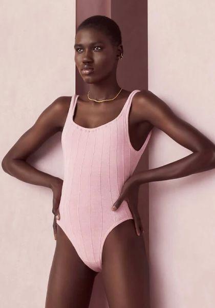 Hunza G Nile Swimsuit Pink