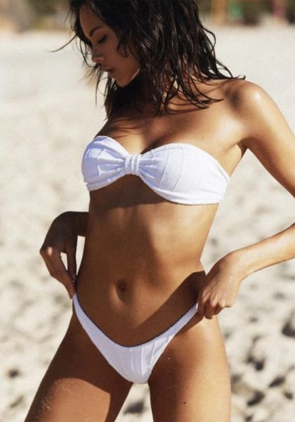 hunza g  jean nile bikini