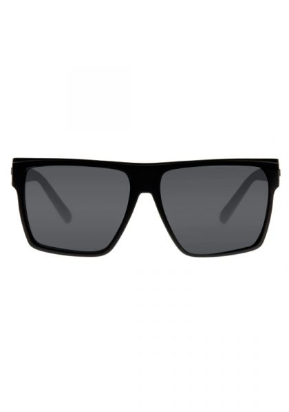 Le Specs Dirty Magic Sunglasses Black Rubber