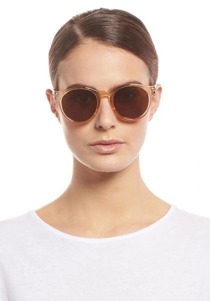 Le Specs Hey Macarena Sunglasses Blonde