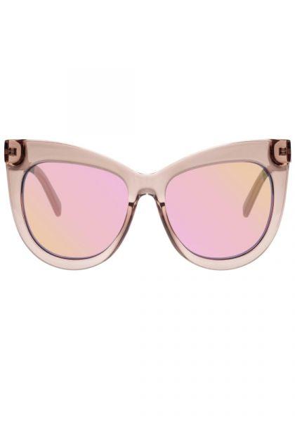 Le Specs Hidden Treasure Sunglasses Rose Water