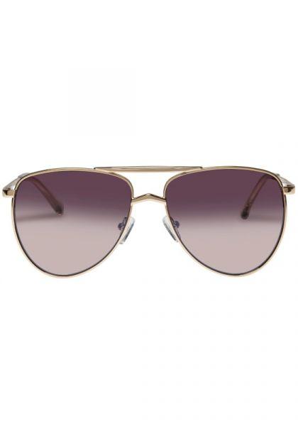 High Fangle Sunglasses Gold