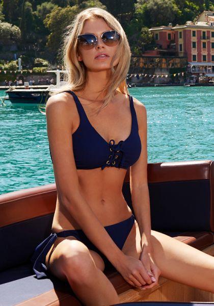 Melissa Odabash Rome Bikini Navy