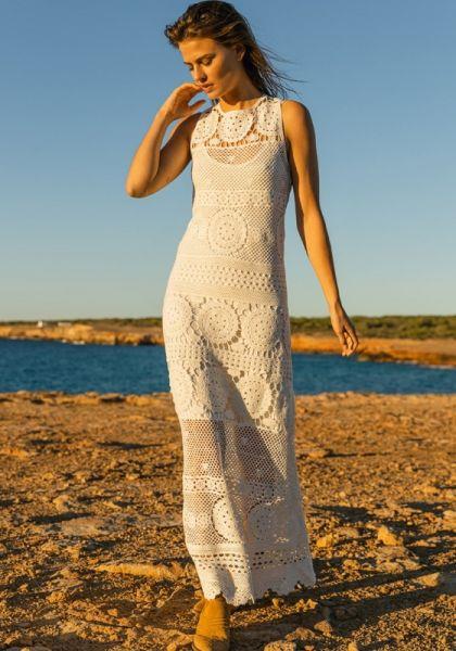 Miss June Erros Dress White