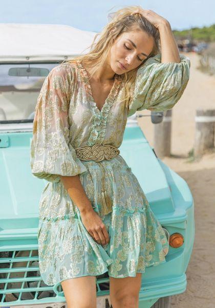 Miss June Tessa Dress Green