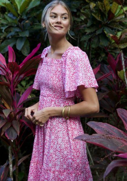 Pink City Prints Lolita Dress Retro Rose