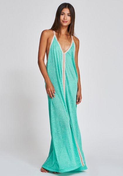 Pitusa Cheetah Sun Dress Mint