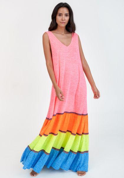 Rainbow Tank Maxi Dress