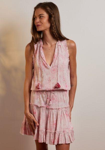 Clara Dress Pink Begonia