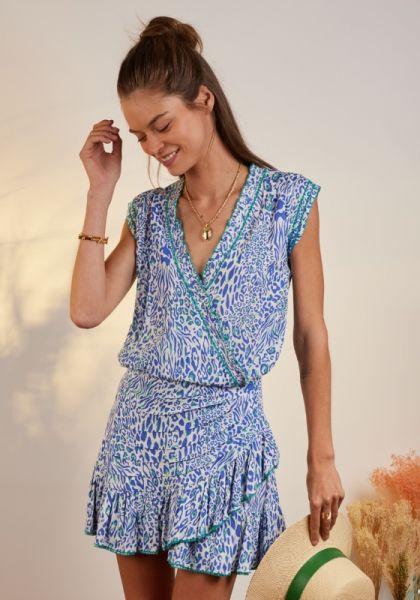 Estelle Dress Blue Eze