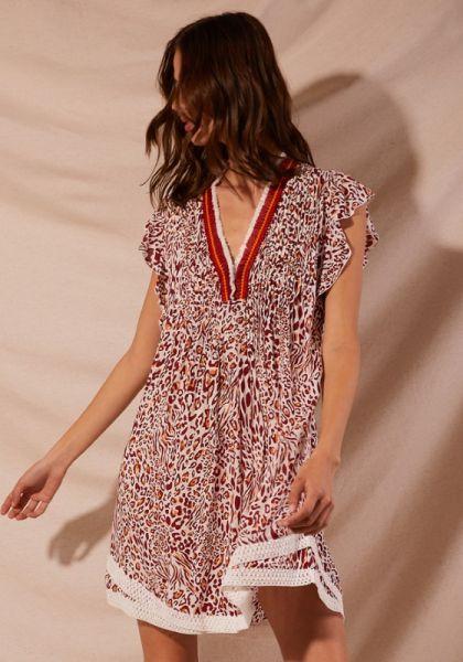 Sasha Dress Red Eze