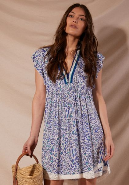 Sasha Mini Dress Blue Eze