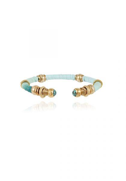 Sari bracelet Turquoise