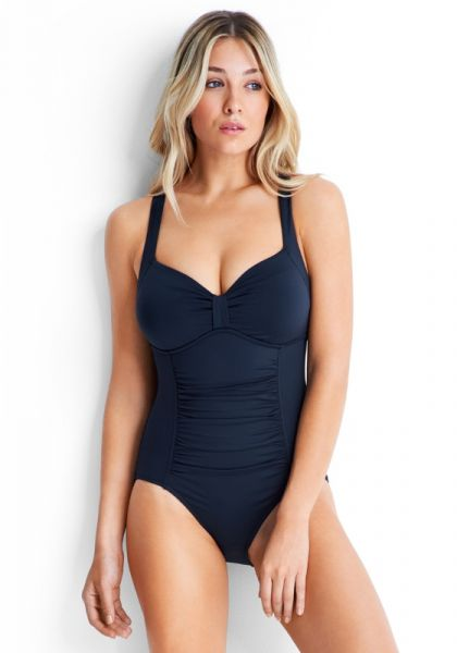 Seafolly Quilted DD Halter Swimsuit