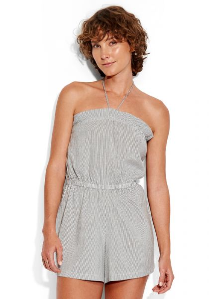 Seafolly Stripe Pull On Playsuit