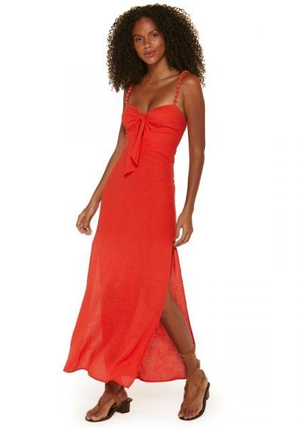 Tricia Dress Coral