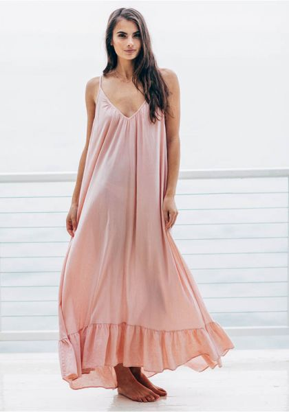 9 Seed Paloma Ruffle Maxi Dress