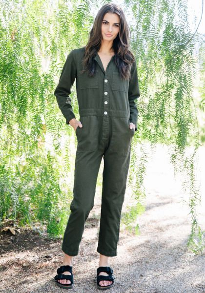 Mojave Flight Suit Military Green