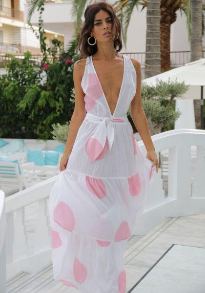 Raphaela Dress Pink Spot