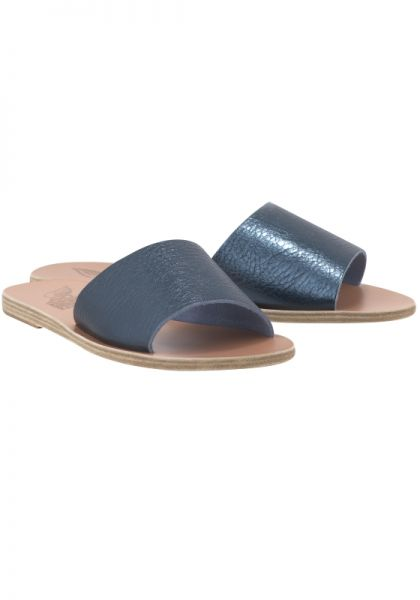 Ancient Greek Sandals Crosta Deep Blue