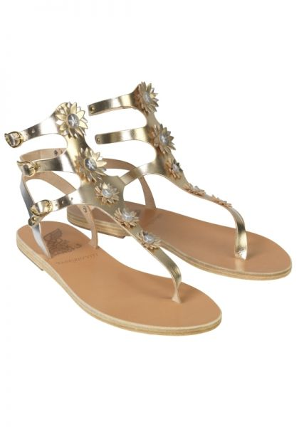 Ancient Greek Sandals Valentina Sandals Platinum