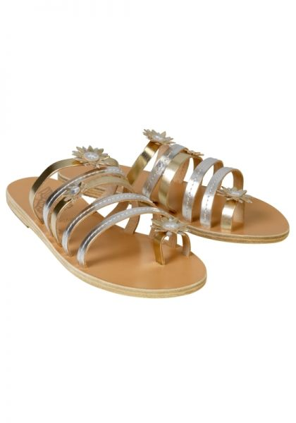 Ancient Greek Sandals Victoria Sandals Platinum