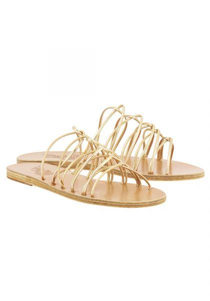 Ancient Greek Rodopi Platinum Sandals