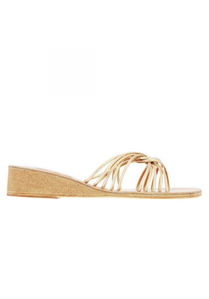 Ancient Greek Sandals Xanthi Wedge Sandals