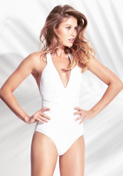 Biondi Antibes Bandage Swimsuit