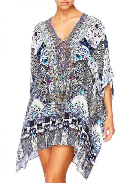 Camilla In the Constellations Lace Up Kaftan