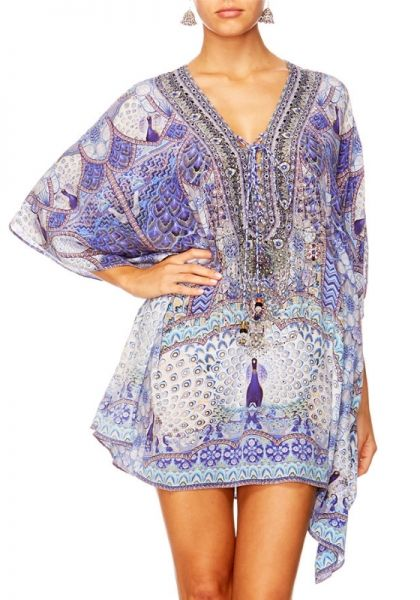 Camilla Wings to fly Lace Up Kaftan