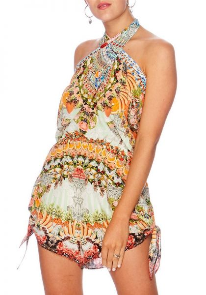 Camilla Slice of Paradise Tie Playsuit