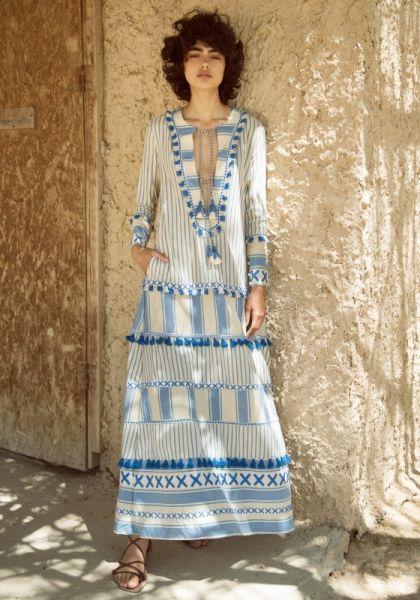 Samuelle Kleid Blau