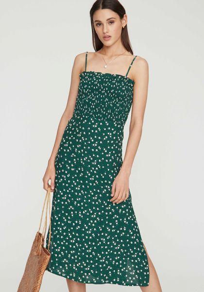 Solange Midi Dress Green