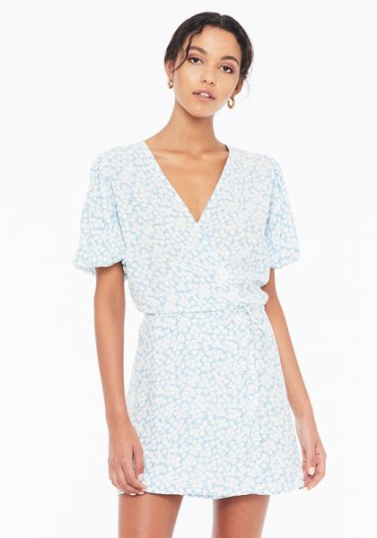 Faithfull The Brand Blanco Mini Dress