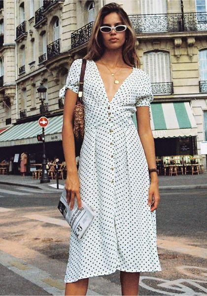 Billie Midi Kleid