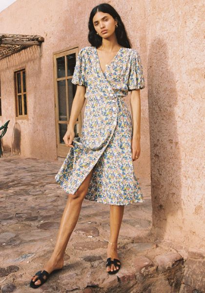 Faithfull The Brand Marta Midi Dress