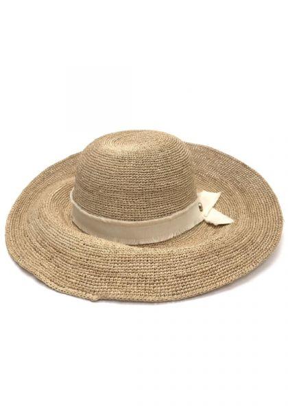Cape Elizabeth Raffia Wide Brim Hat