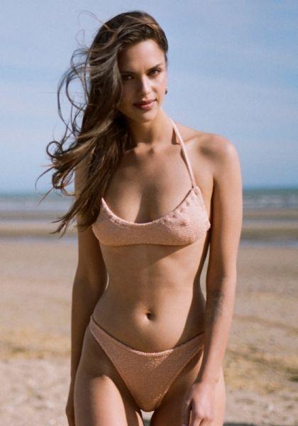 Hunza G Collette Bikini Taupe