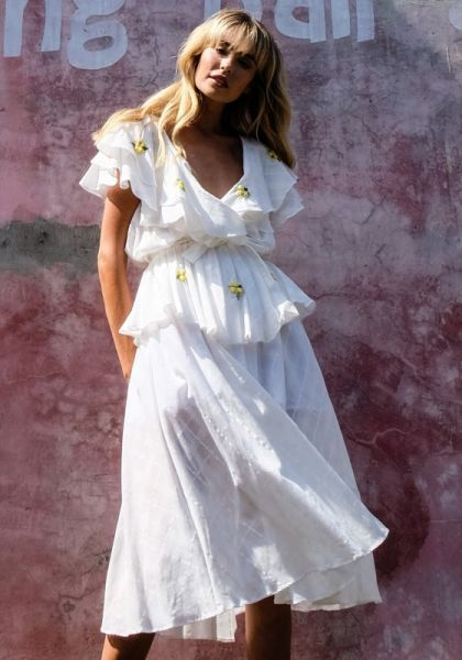 Sailor Wrap Dress