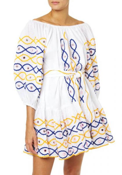 Juliet Dunn Boho Dress